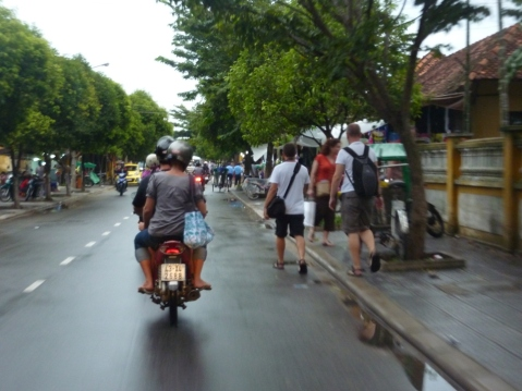 biker night in vietnam