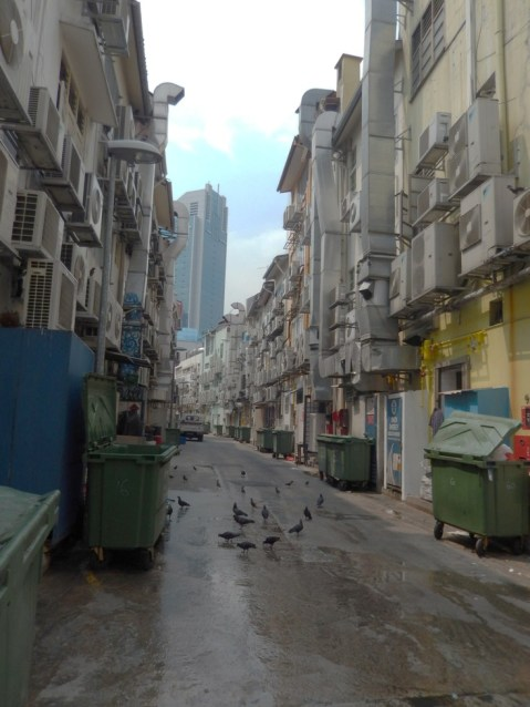 back alley Singapore